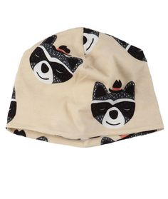 Raccoon Beanie via koolabah. Click on the image to see more!