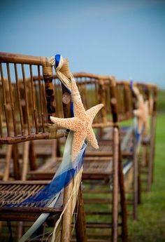 Love this idea for a #BEACH OR #OUTDOOR #WEDDING