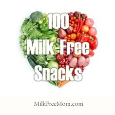 100 Milk Free Snacks