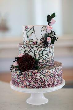 AMAZING wedding cake!!