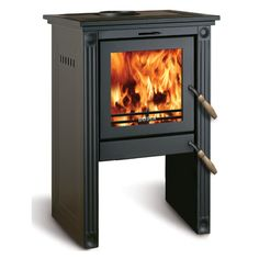 Bosca Classic 450 Wood Stove - Black | WoodlandDirect.com: Wood Stove and Accessories