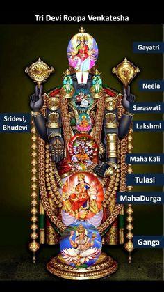 🌞காலை வணக்கம் - Tri Devi Roopa Venkatesha Good Morning Gayatri Neela S arasvati Sridevi , Bhudevi Lakshmi Maha Kali Tulasi REK MahaDurga Ganga - ShareChat Bhagavad Gita, Lord Murugan Wallpapers, Shri Hanuman, Shree Krishna, Radhe Krishna, Lakshmi Images, Ganesha Pictures, Lord Ganesha Paintings, Ganesh Lord