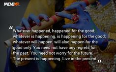 Powerful Quote By Lord Krishna - loved & pinned by www.omved.com