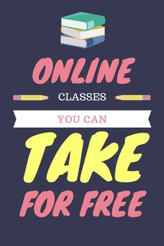 Online classes you can take for free! Educate yourself online and grow your business. Learn craft, marketing, music online.