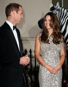 Kate Middleton and Prince William at Tusk Awards Dinner 12 September 2013