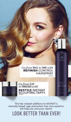 MONAT Refinish Control Hairspray http://pille.mymonat.com