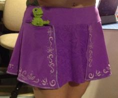 Because I Said Sew's RAPUNZEL Running skirt.  Yeah, I would take up running if I can wear this.