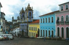 Once the capital city of Brazil from 1549 up until 1763 when it was succeeded by Rio de Jeneiro, Salvador da Bahia is considered to be the happiest place in the country. Description from fivestarvagabond.com. I searched for this on bing.com/images
