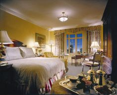 Deluxe Guest Room at the Four Seasons Hotel Dublin