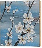 Cherry Blossoms Wood Print by Tomoko Koyama