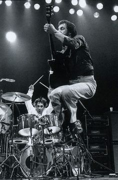 Image result for the who  keith moon   concert  gifs