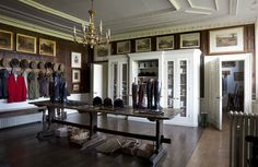 Stately tack room