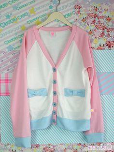 Image 1: Ribbon Cardigan ☆ Pink