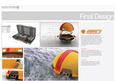 NORI Emergency Liferaft by Ronald Lek at Coroflot.com