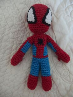Amigurumi Spiderman Marvel au crochet fait-main