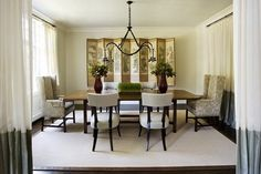 Classic And Charming Dining Room Ideas     Dining room is a place used for serve and enjoy the meals.Usually it is equipped with a beautifu...