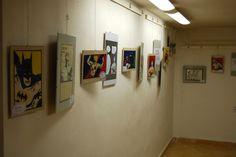 My exhibition in the library...