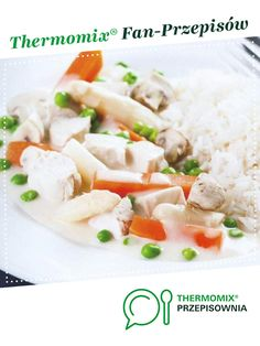 Potrawka z kurczaka jest to przepis stworzony przez użytkownika ulka01. Ten przepis na Thermomix<sup>®</sup> znajdziesz w kategorii Dania główne z mięsa na www.przepisownia.pl, społeczności Thermomix<sup>®</sup>. Grains, Rice, Cooking, Food, Cuisine, Kitchen, Meal, Eten, Meals