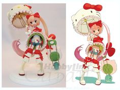 Hello Kitty to Issho! Iroha Nekomura PVC Now, to be honest, this figure is WAY cuter in real life!