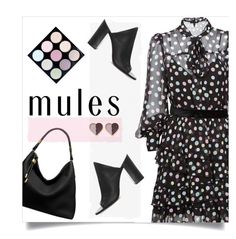 """""""Slip 'Em On: Mules"""" by collagette ❤ liked on Polyvore featuring Marc Jacobs, 1.State, Michael Kors, michaelkors, marcjacobs, mac and mules"""