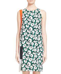 >> Click to Buy << Floral Flower Print Women A-Line Dress Fashion Patchwork Dresses 016116B1 #Affiliate