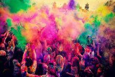 Holi festival #colour