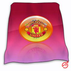 New Manchester United Red Logo Blanket