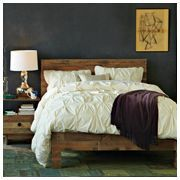 West Elm Emmerson Bed. Only $1200-1400 for a very cool bed made of recycled pallettes.  If it's going to be upcycled with cheap wood, at least give us a price break.