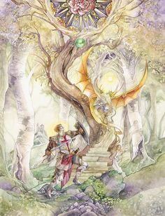 Saint George and the Dragon by ~puimun on deviantART