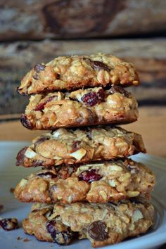 Trail Mix Cookies – Northwest Healthy Mama