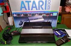 Check out this item in my Etsy shop https://www.etsy.com/listing/448638994/vintage-atari-5200-video-game-system-4