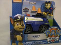 Nickelodeon Paw Patrol  Chase's Cruiser NEW in Package HTF  ON HAND FREE SHIP US #SpinMaster
