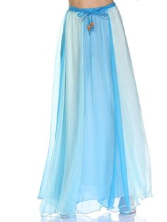b5786cdbeea788  10.70 Bohemian Color Block High Waist Maxi Chiffon Skirt Cheap Skirts