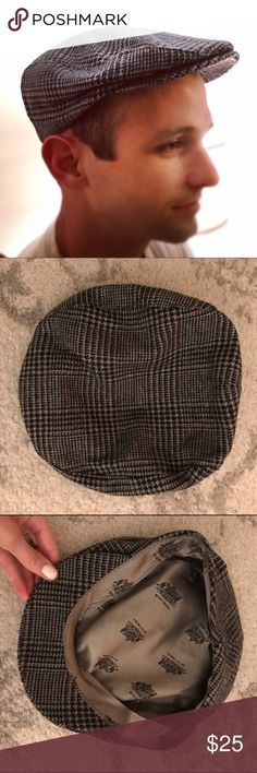 Stetson plaid wool Ivy cap This is a classically styled ivy cap by Stetson. Featuring a sturdy brill/brim for a luxe touch, this newsboy cap has blue, red, rust, and brown undertones. Fully lined, water repellent and finished with soft silk screened Stetson logos on the inner crown. This hat is in excellent condition! It measures 9.5 inches by 9 inches, and is listed within the hat as a size Medium. Stetson Accessories Hats