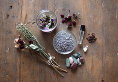 DIY Potpourri With Dried Flowers
