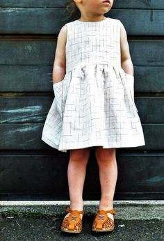 Handmade Linen Dress by YouAreSmall on Etsy