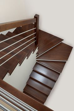 Steel Stairs, Loft Stairs, House Stairs, Stair Paneling, Staircase Makeover, Wooden Stairs, Interior Stairs, Stairways, House Plans