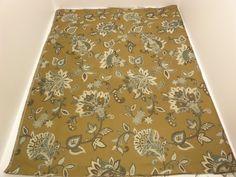 P Kaufmann Fabric (5 / 6 Yard) Garden Crewel Glass Brown on an Ivory  + FREE SAMPLES!!! on Etsy, $19.99