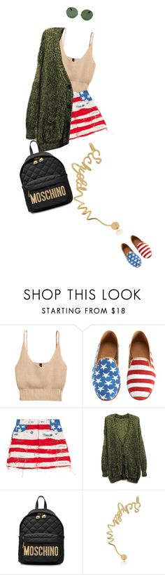 """""""eva 1012"""" by evava-c ❤ liked on Polyvore featuring Marc Jacobs, Moschino, Schield Collection and Givenchy"""