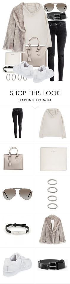 """Untitled #20598"" by florencia95 ❤ liked on Polyvore featuring H&M, Alexander McQueen, Yves Saint Laurent, Tom Ford, Forever 21, Cartier, Halston Heritage, adidas and MANGO"
