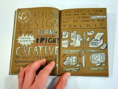 - Catalone Design Book : MIKE LOWERY // illustration