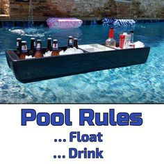 Pool Rules, Bar Set Up, Pool Bar, Realtor Gifts, Food Displays, Beer Bar, Beer Lovers, Party Accessories, Bars For Home