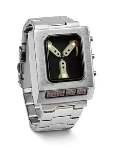 Go Back in Time with a Back to the Future Flux Capacitor Watch
