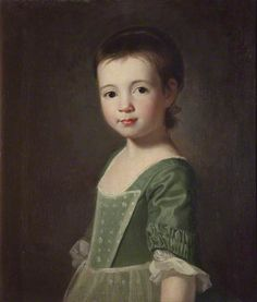 Portrait of a Girl (said to be Miss Collingwood) by George Romney, 1767. National Museums Liverpool