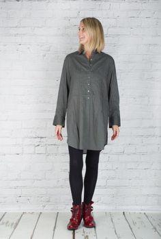 #TM #Collection Tunic Zen Cobre TM15525 (Charcoal Back)  #fashion #walkers #winter #season