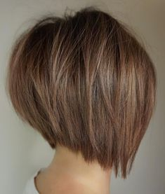 60 Layered Bob Styles: Modern Haircuts with . 60 Layered Bob Styles: Modern haircuts with layers for every occasion, Bobs For Thin Hair, Short Hairstyles For Thick Hair, Layered Bob Hairstyles, Short Hair With Layers, Short Bob Haircuts, Short Hair Styles, Bob Styles, Medium Hairstyles, Stacked Haircuts