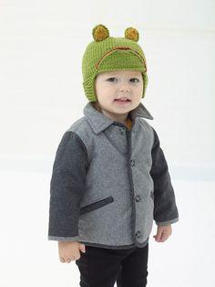 Frog Hat (Knit)