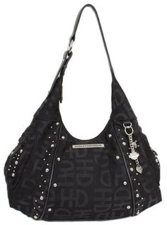 Looking for Harley-Davidson Women's H-D Jacquard Hobo Purse Black ? Check out our picks for the Harley-Davidson Women's H-D Jacquard Hobo Purse Black from the popular stores - all in one. Harley Davidson Panhead, Classic Harley Davidson, Harley Davidson Logo, Harley Davidson Boots, Harley Davidson Street Glide, Davidson Bike, Harley Davidson Purses, Studded Leather, Leather Purses