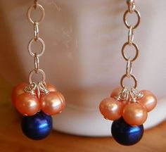 JEWELRY Auburn Cluster Earrings at Flawed Perfection Jewelry