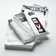 Wholesale Lastest Design New High quality Pearl Weave Fabric Patches White Men Brazilian Jiu Jitsu Kimono BJJ Judo Shoyoroll Gi $30~$60